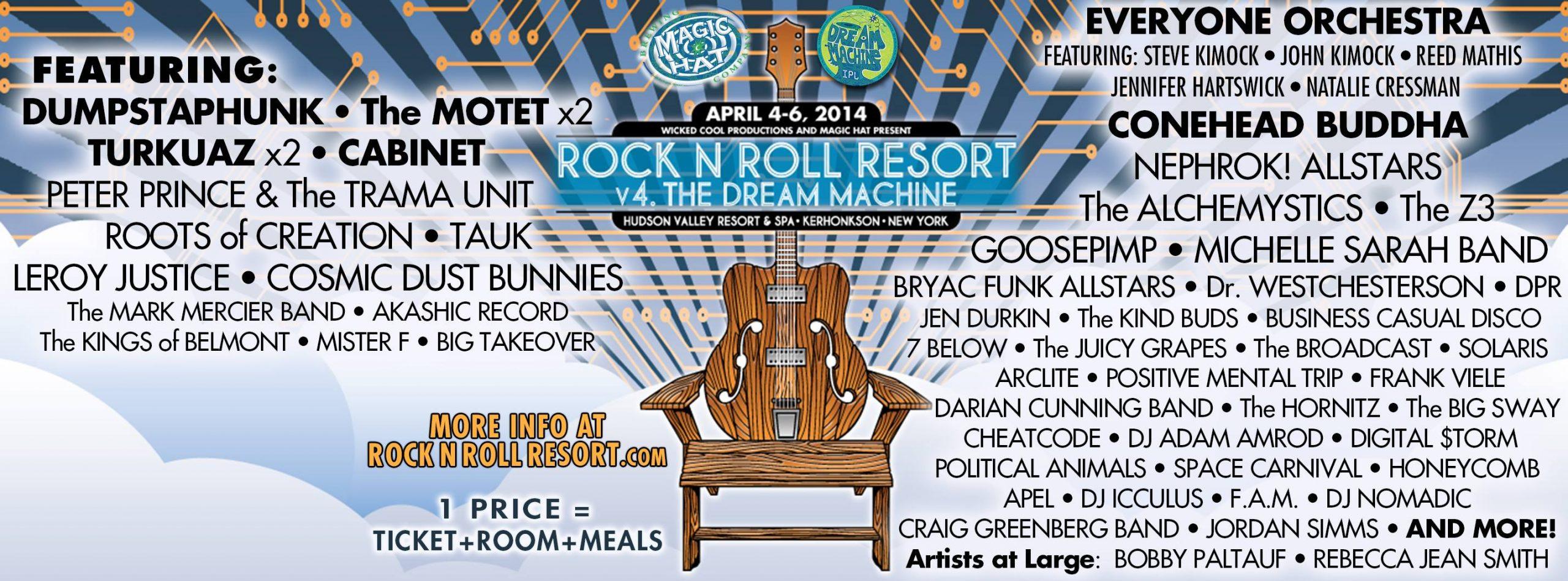 Rock n Roll Resort v4: The Dream Machine
