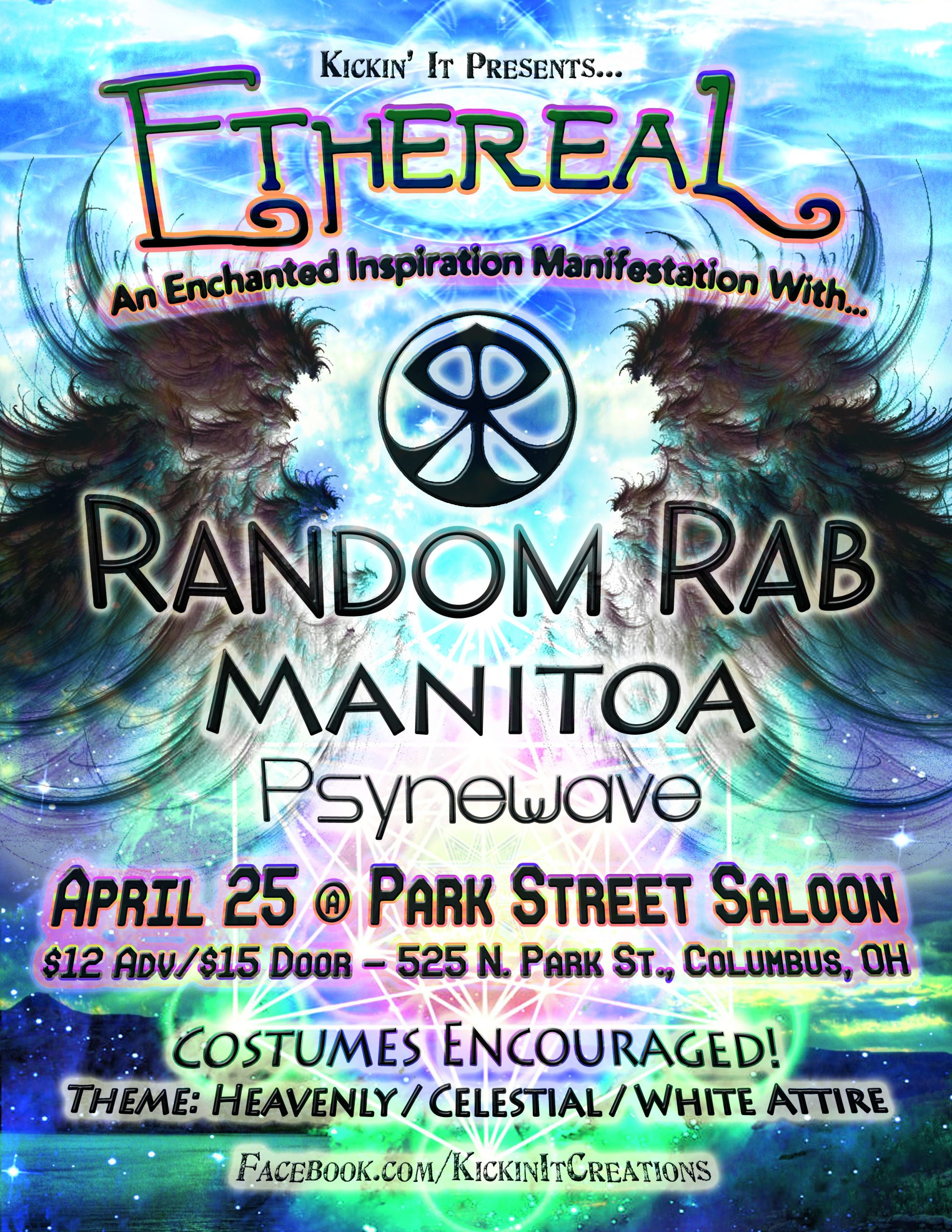 Kickin' It Crew to host event Ethereal feat. Random Rab & Manitoa April 25