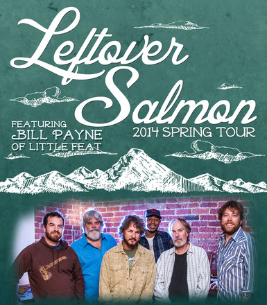 Leftover Salmon Announces Spring 2014 Tour Dates Featuring Bill Payne of Little Feat
