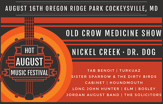 HOT AUGUST MUSIC FESTIVAL TAKES PLACE AUGUST 16TH, 2014
