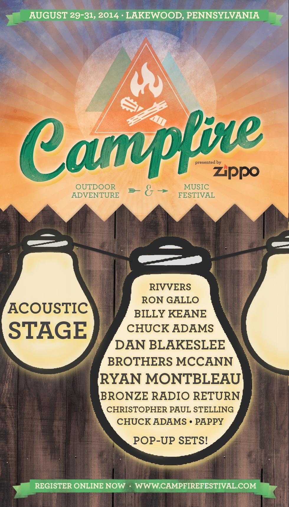 Inaugural Campfire Festival Presented by Zippo
