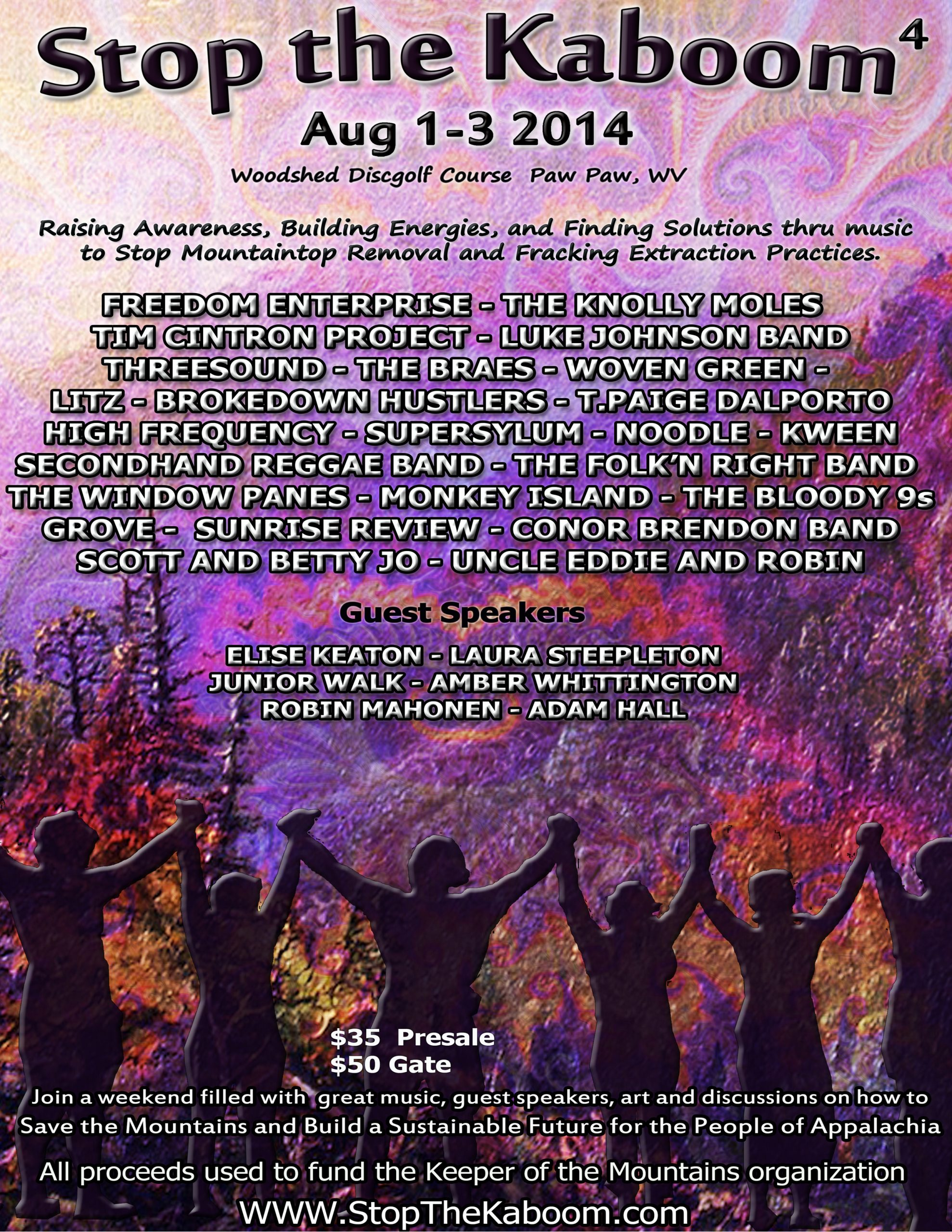 Stop the Kaboom Music & Arts Festival Kicks Off August 1st
