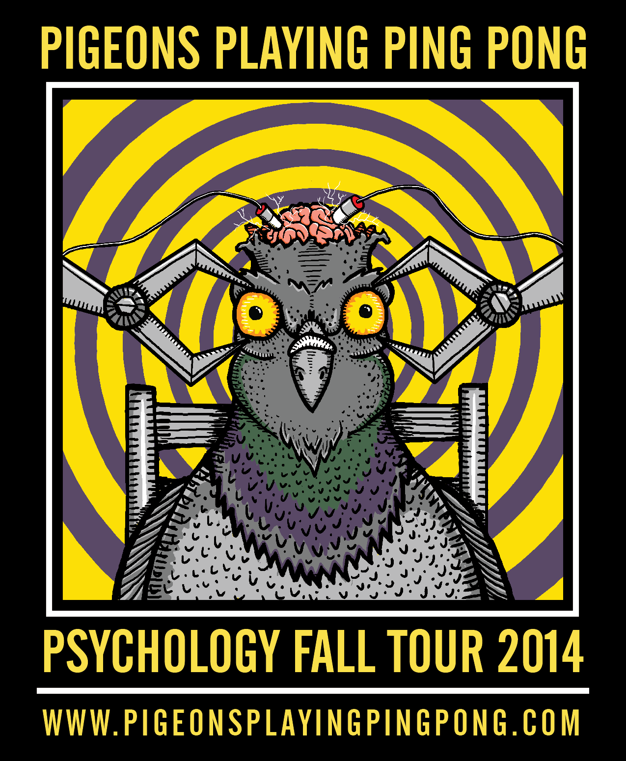Pigeons Playing Ping Pong Announce Fall Tour