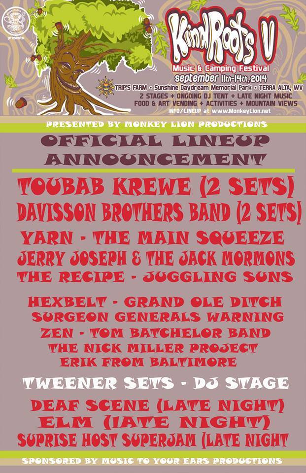 Kind Roots Festival Artist Spotlight on: Toubab Krewe