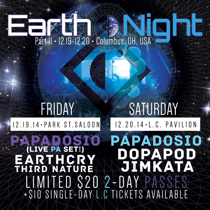 Papadosio Announces Earth Night 2014: A Solstice Celebration