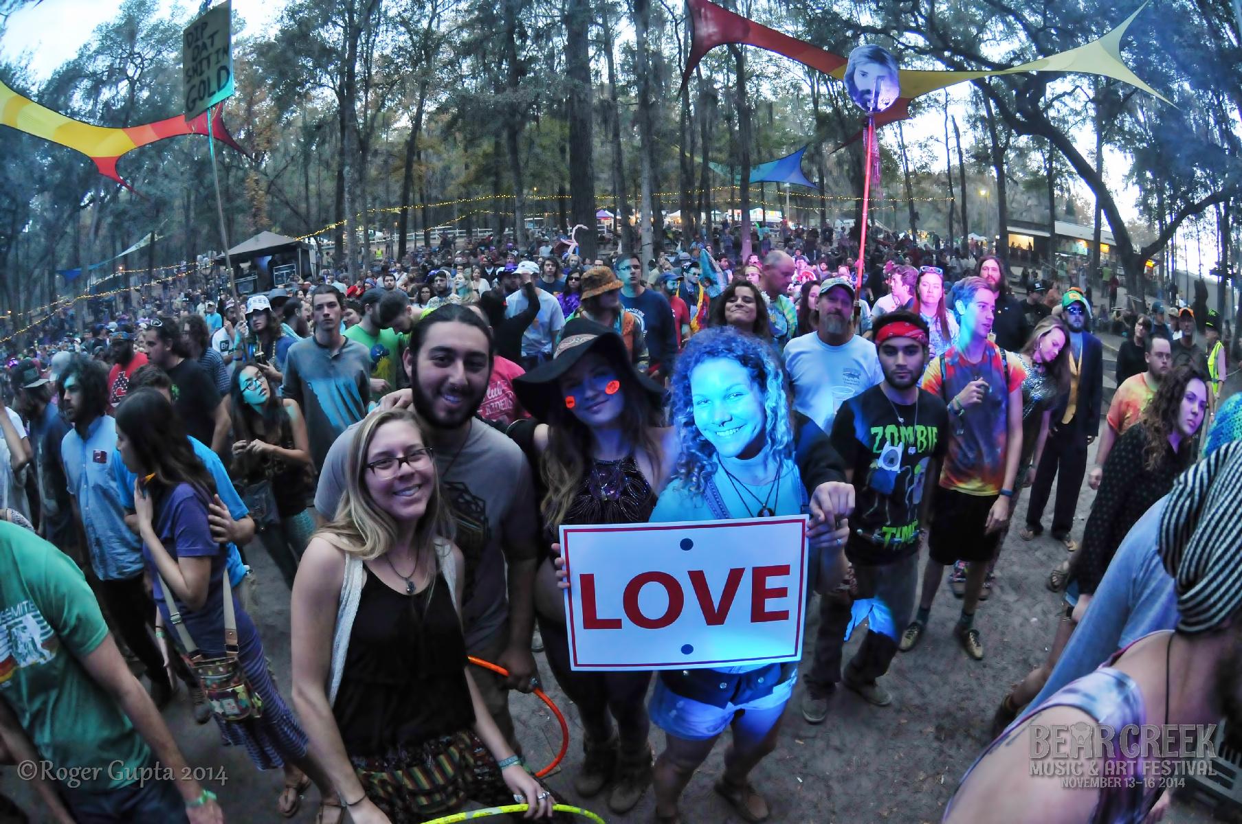 Bear Creek Music Festival Nov. 13-16 Review