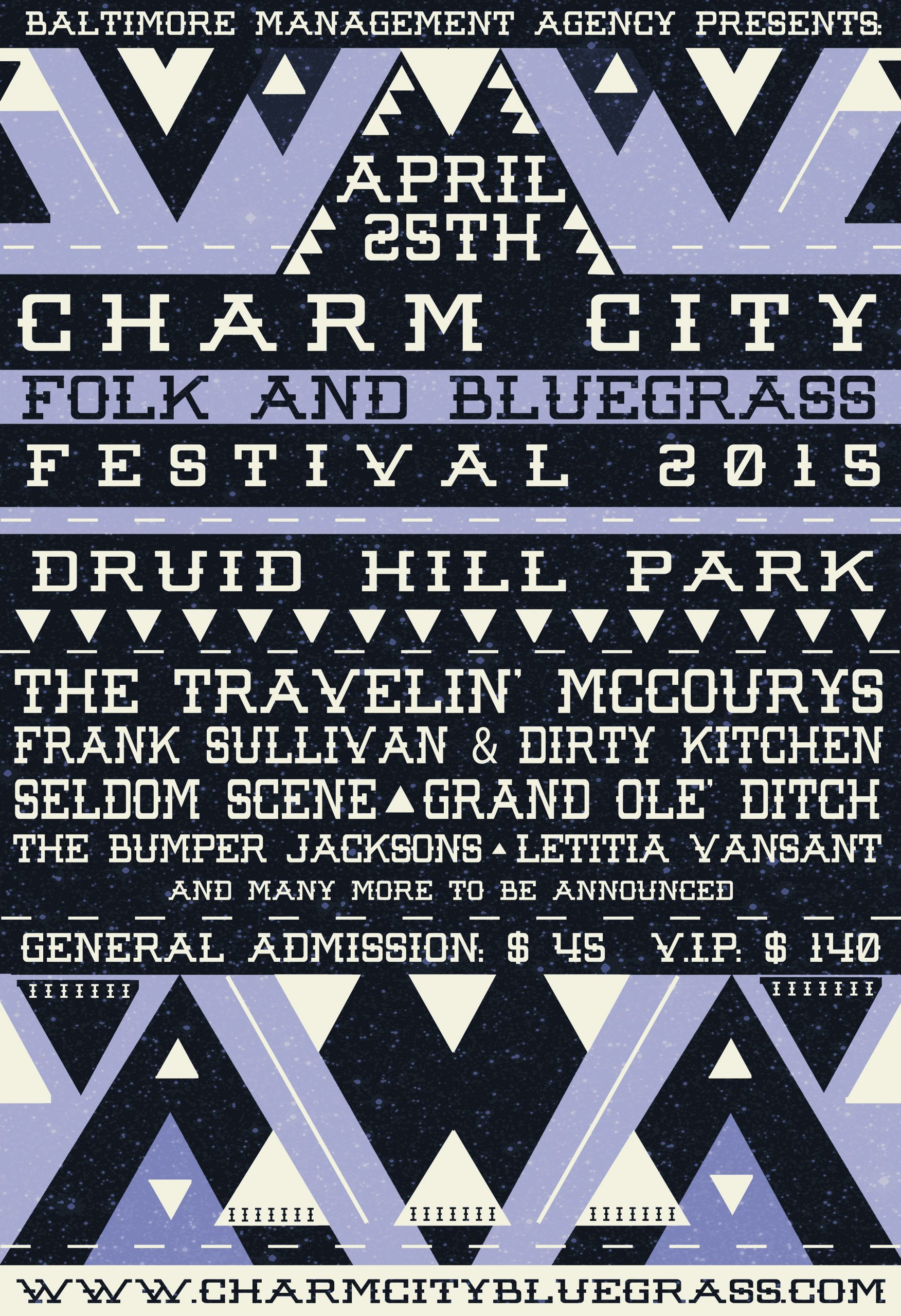 Charm City Folk and Bluegrass Festival Announces Initial Lineup