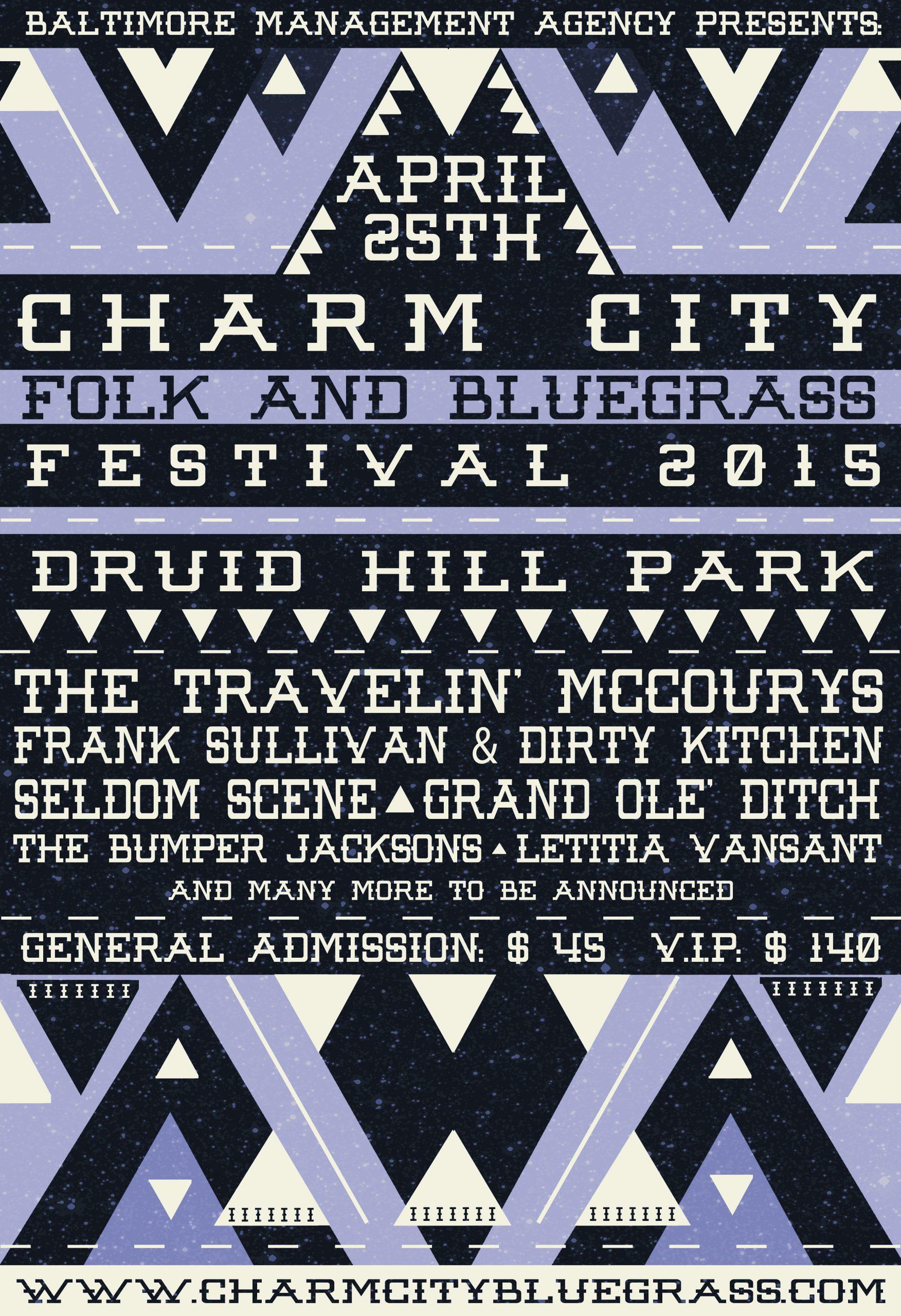 Charm City Folk and Bluegrass Festival Announces Initial Lineup