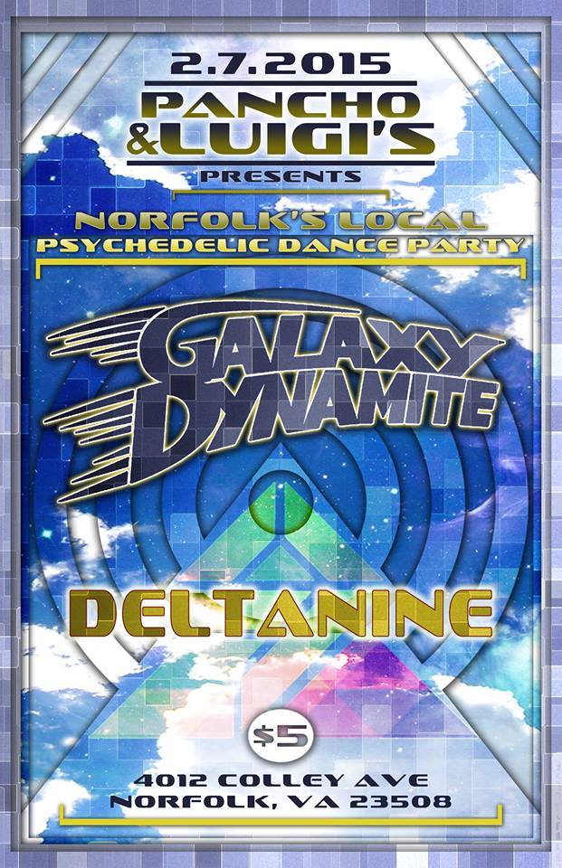 Galaxy Dynamite Releases New Music Videos Supporting Lotus in Norfolk, VA
