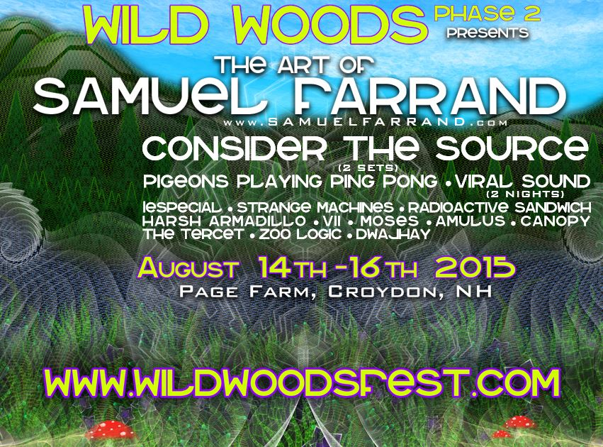 Wild Woods Phase 2 Lineup Announcement!