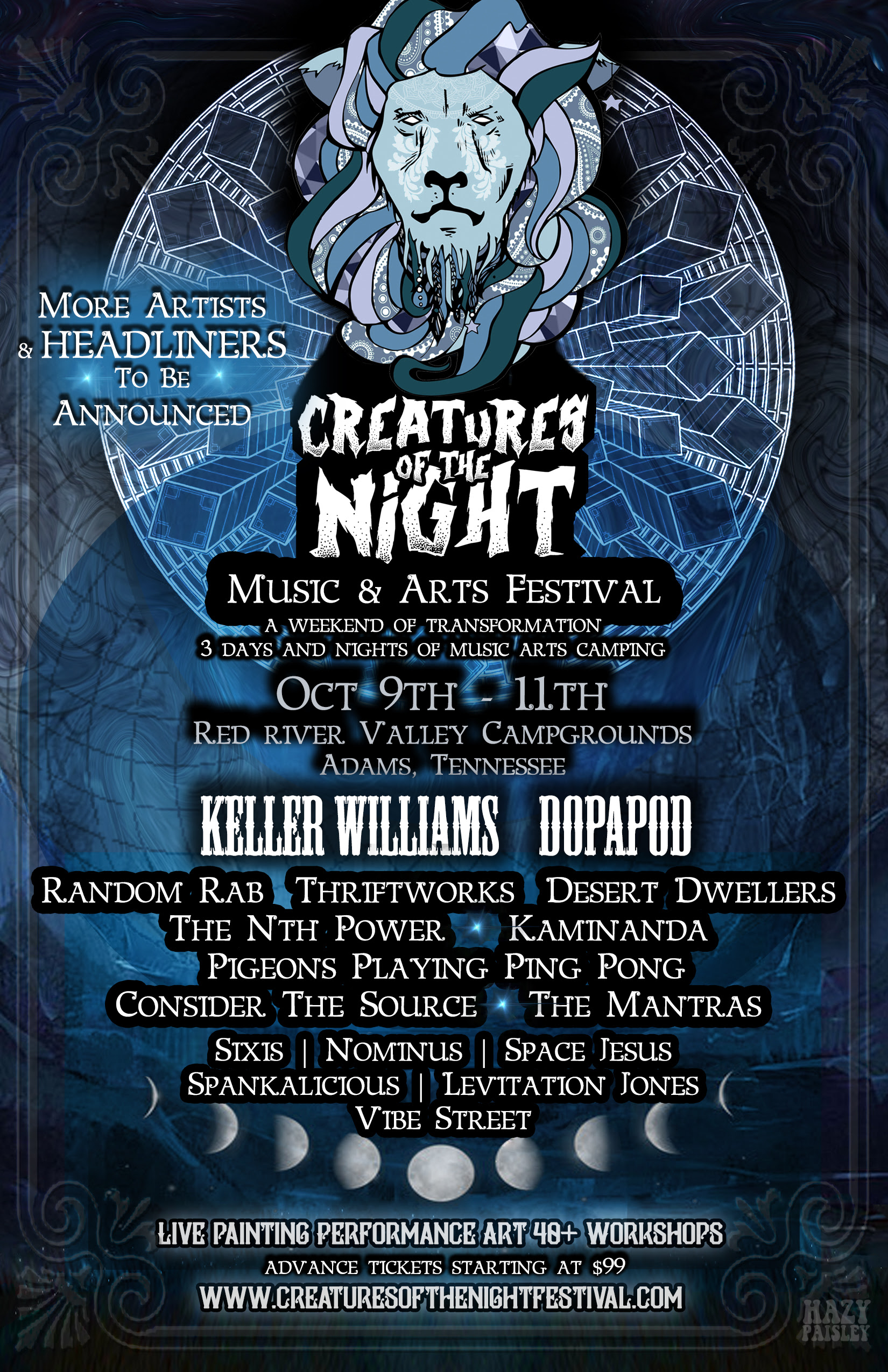 Creatures of the Night Phase One Announcement