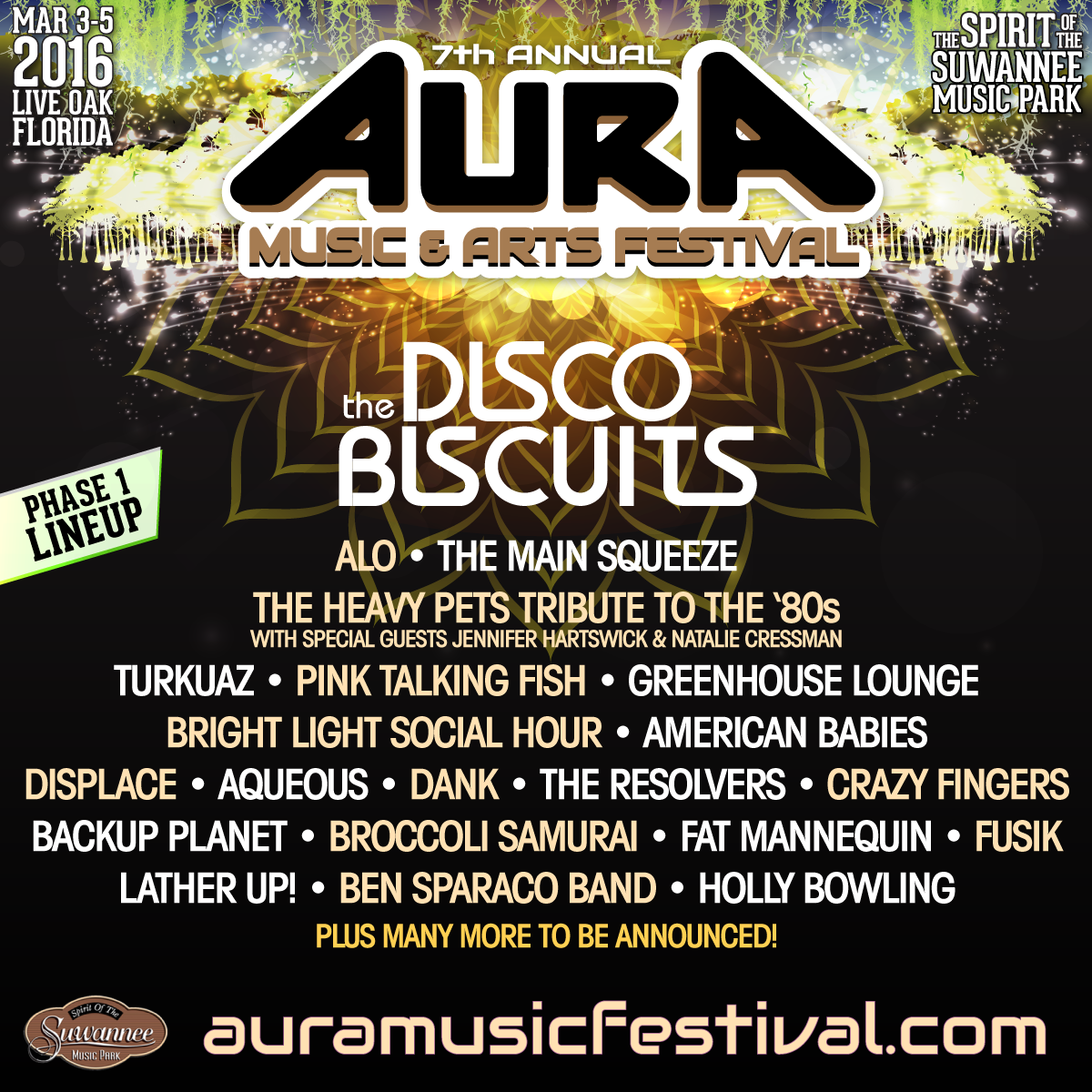 Aura Music & Arts Festival Unveils Phase One Lineup
