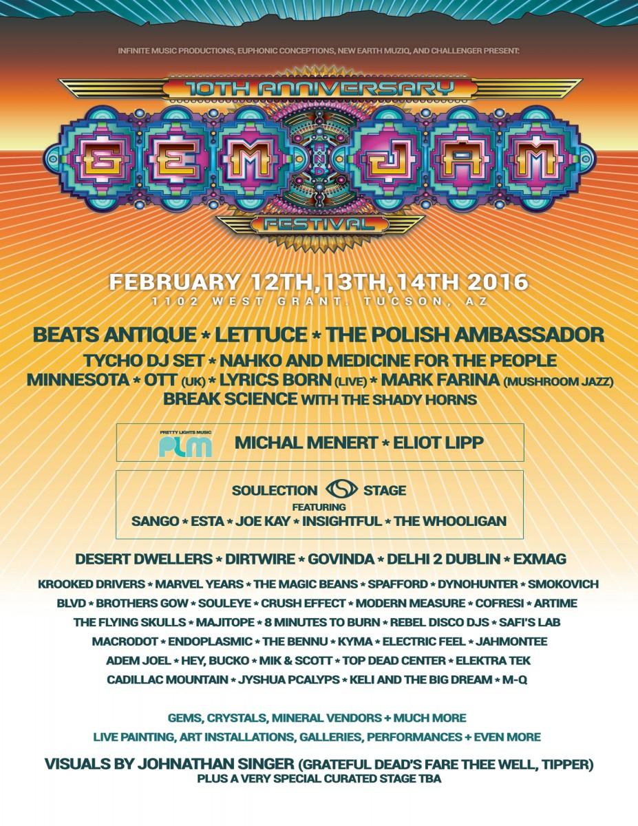 Gem & Jam Festival Preview
