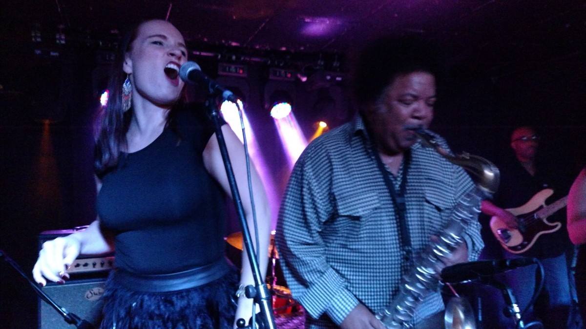 The Ron Holloway Band at Martin's Downtown in Roanoke, VA 2.19.16