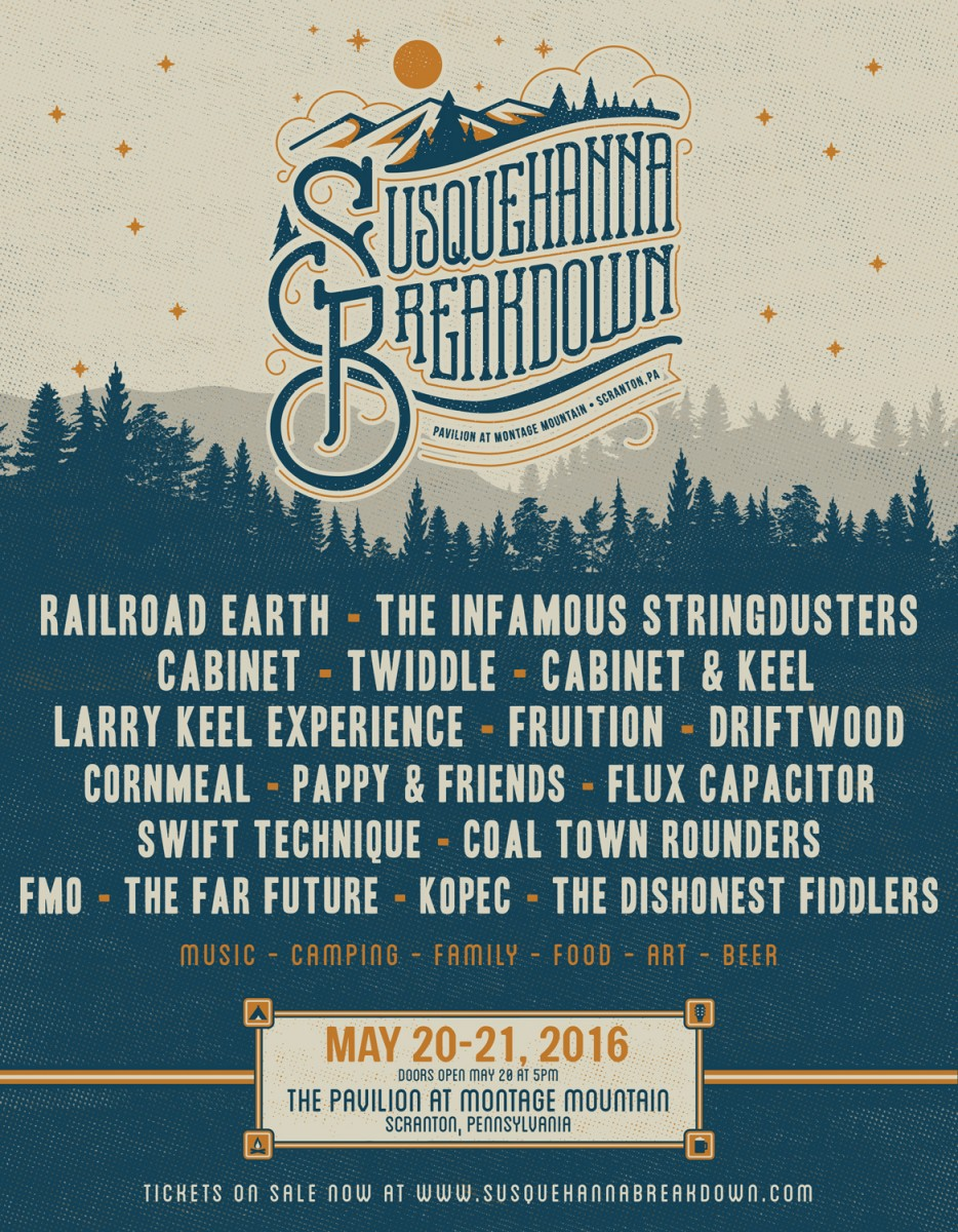 4th Annual Susquehanna Breakdown Music Festival Announces Full Lineup!