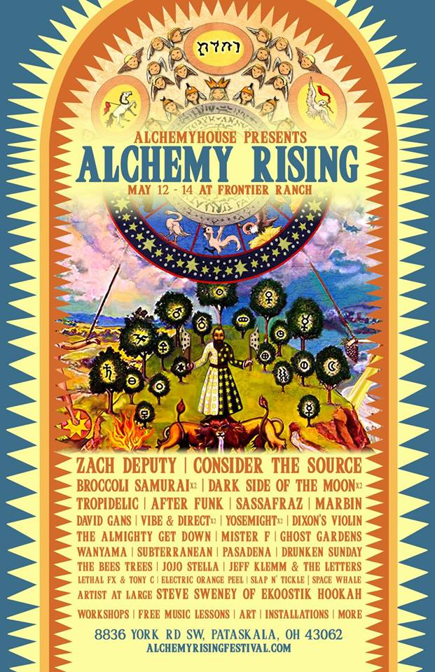 Alchemy Rising Preview May 12-14, 2016, Frontier Ranch, OH