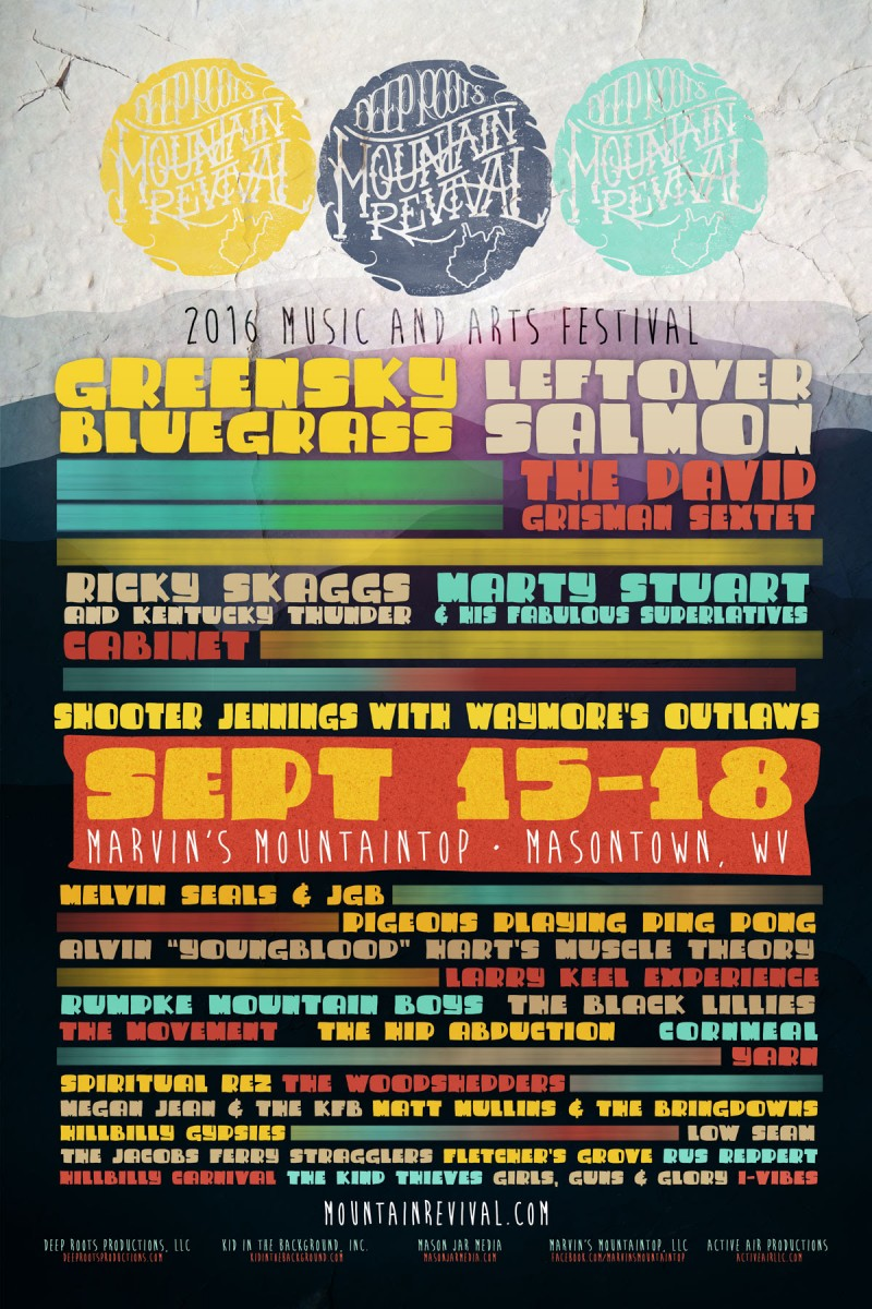 Deep Roots Mountain Revival Festival Announces First Round Lineup
