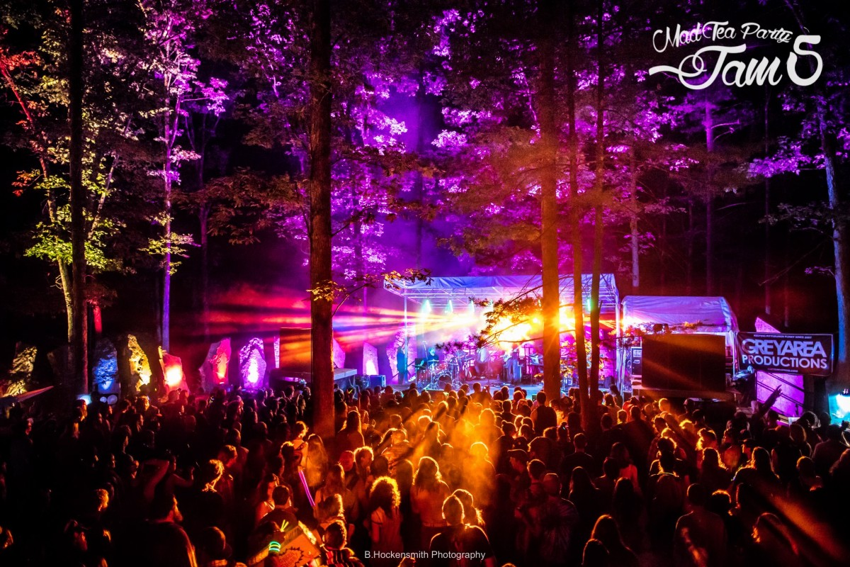 The Mad Tea Party Jam 5 Review June 16-19, 2016, Artemas, PA
