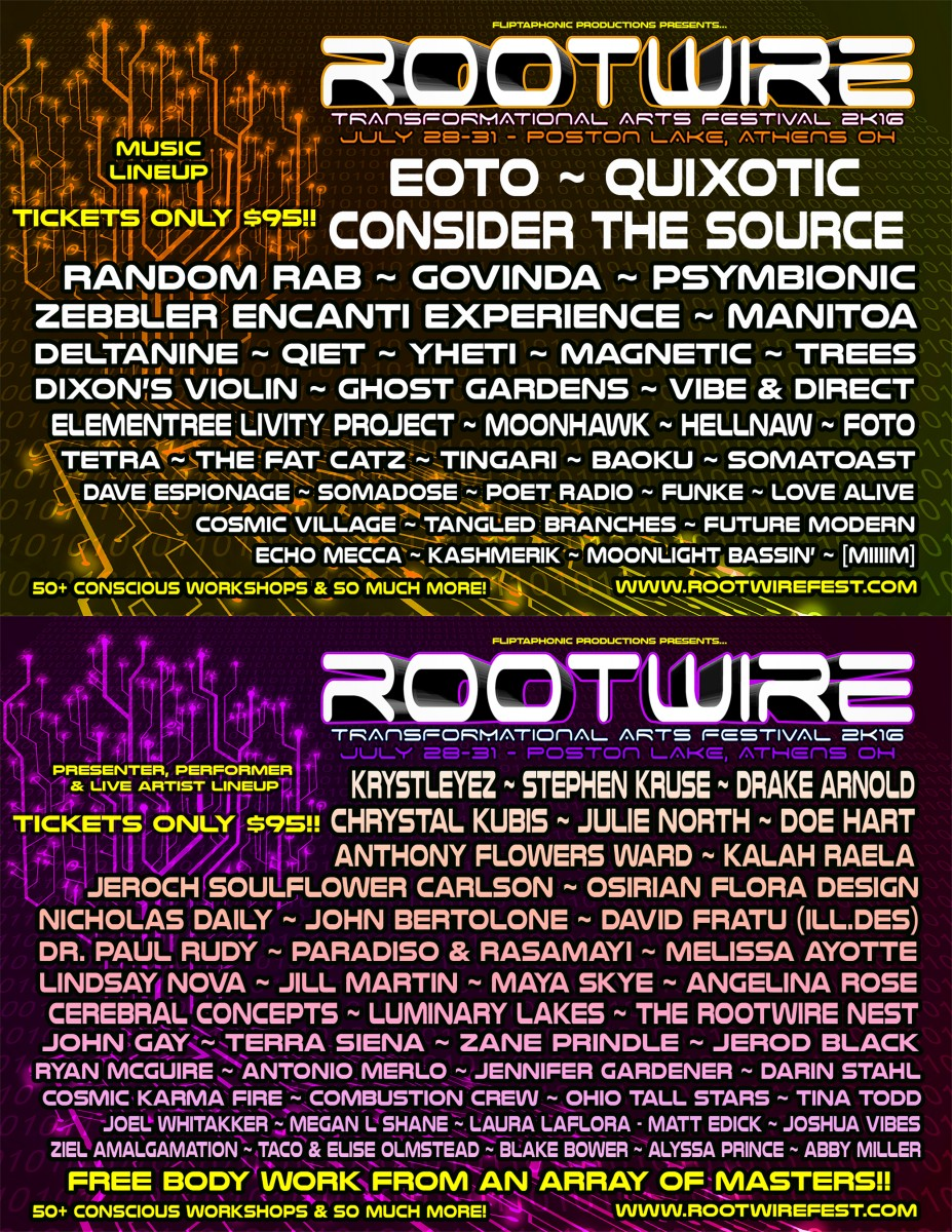 Exclusive Interview with Organizer of Rootwire Transformational Arts Festival
