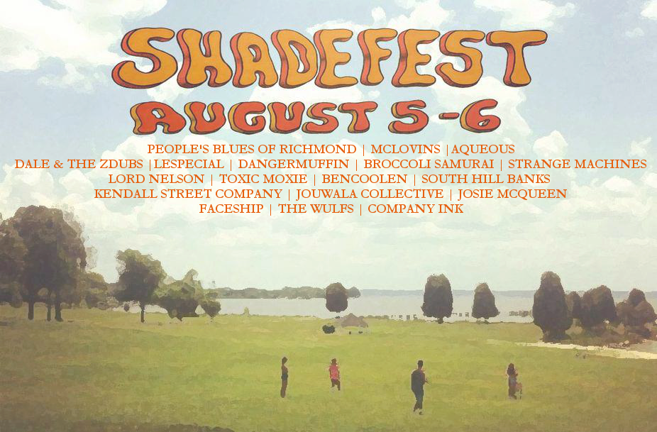 ShadeFest Preview: August 5th & 6th, 2016, Avenue, MD