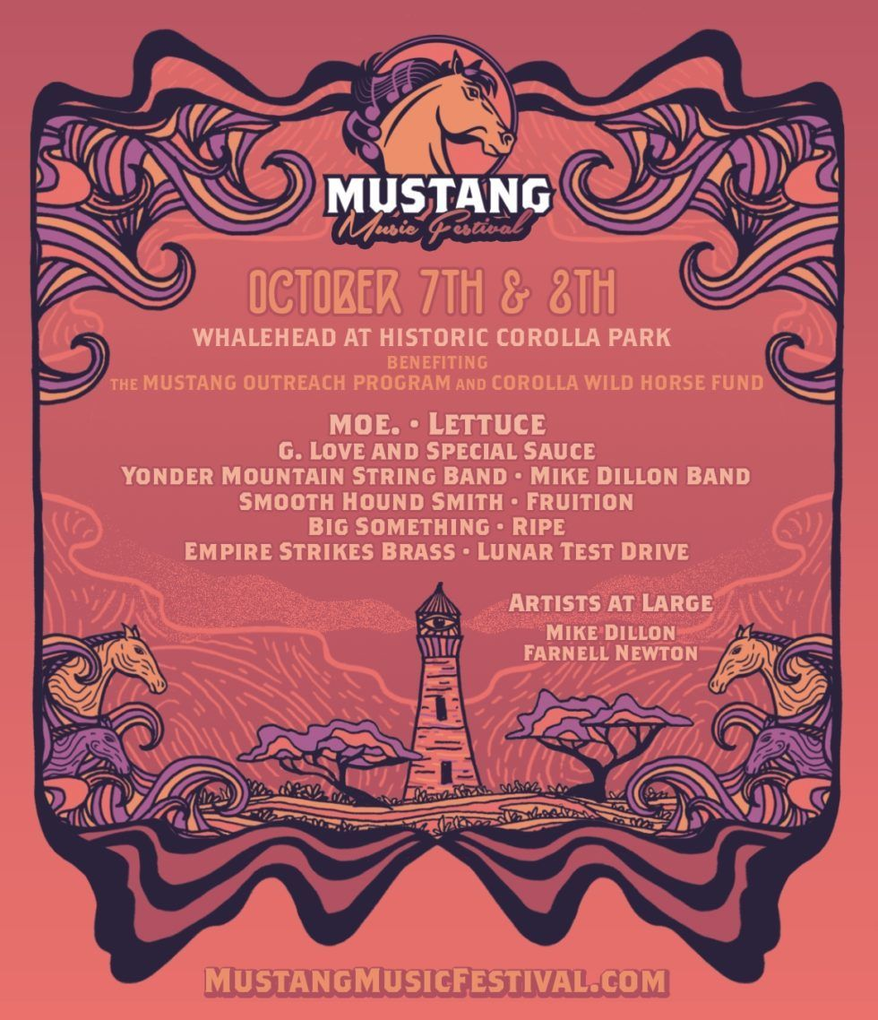 Mustang Music Festival Preview, Oct 7-8, 2016, Corolla, NC