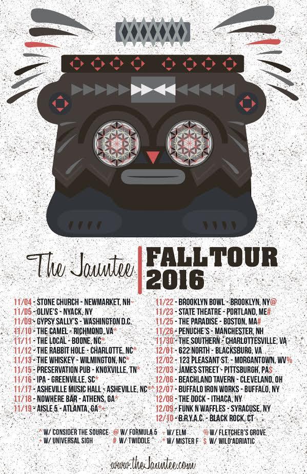 The Jauntee Announces Fall 2016 Tour
