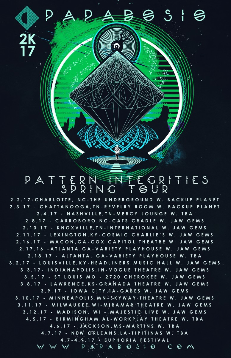 Papadosio Announces Spring Headlining Tour w/ Jaw Gems