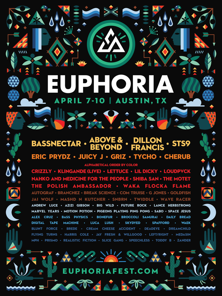 Preview: Euphoria Festival April 7-10, Austin, TX