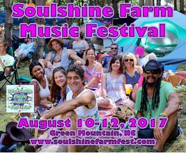 Soulshine Farm Festival To Return August 10-12, 2017