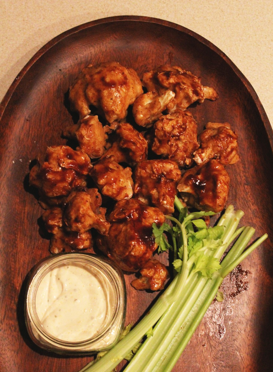 Recipe: Cauliflower Wings