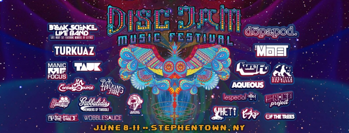 Preview: Disc Jam Music Festival June 8-11, 2017