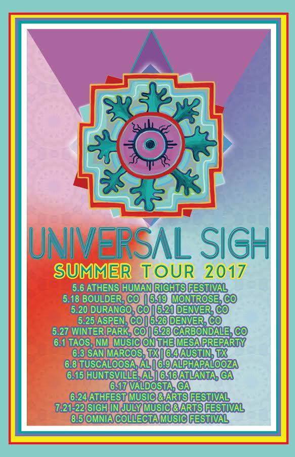Universal Sigh Summer 2017 Tour