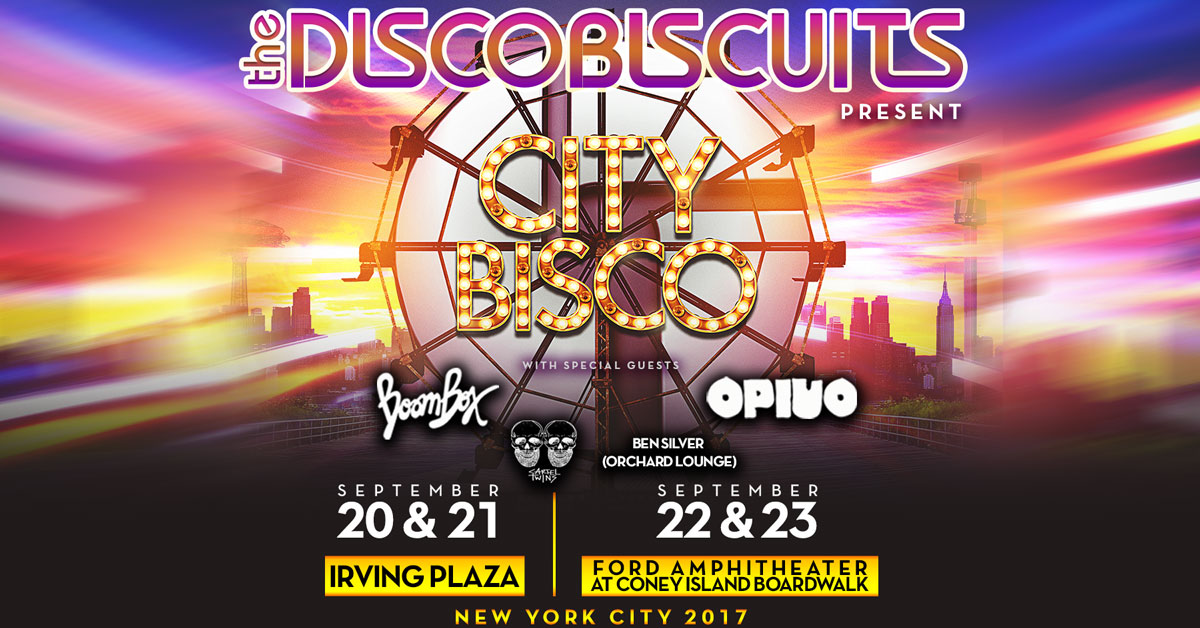 The Disco Biscuits Presents City Bisco, 4 Nights in New York City