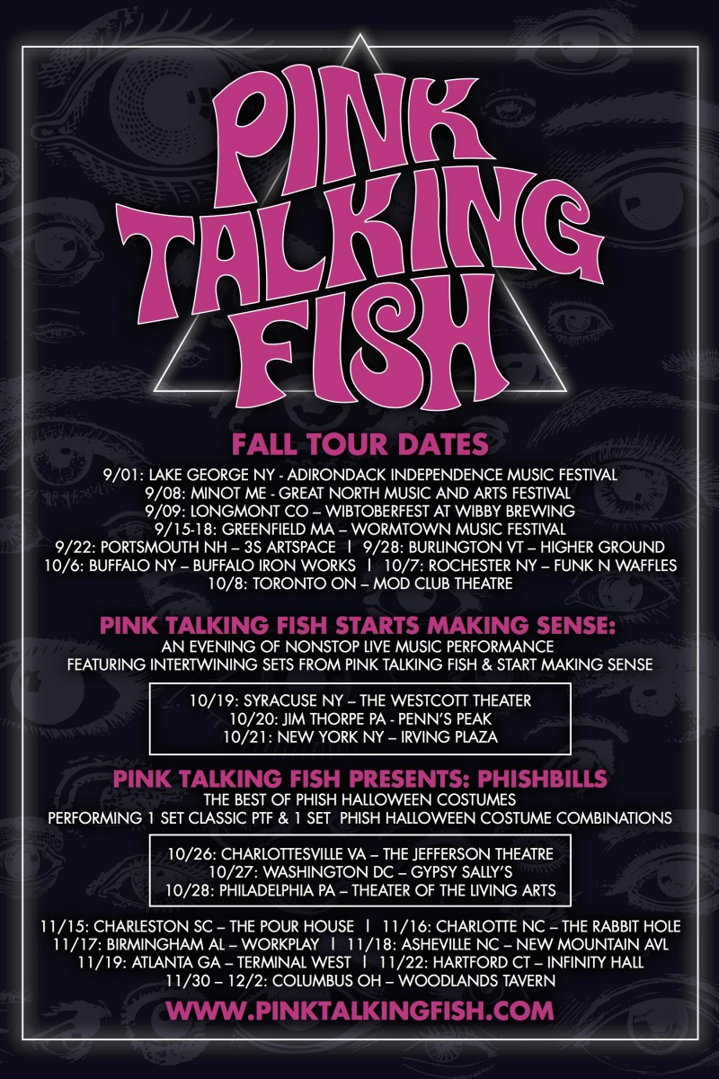 Pink Talking Fish Announces Action Packed Fall Tour