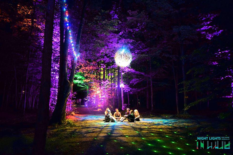 Night Lights Music Festival, AUG 24 – AUG 27 2017, Sherman NY