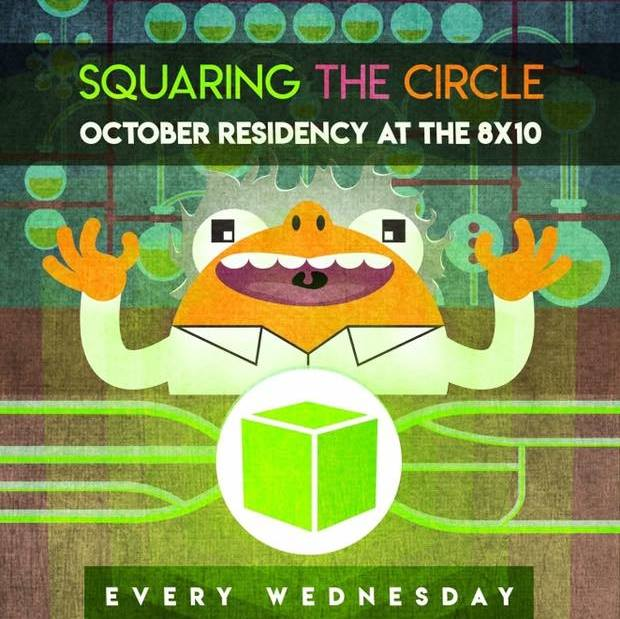 Be There AND Be Square!  Interview with Tyler of Squaring the Circle about their 8×10 Residency in October