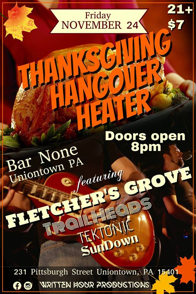 Gettin' down to the Giblets about the Thanksgiving Hangover Heater this Friday Nov 24