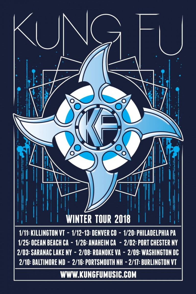 Kung Fu Announces Winter Tour – with Kick-off Toys For Tots Benefit