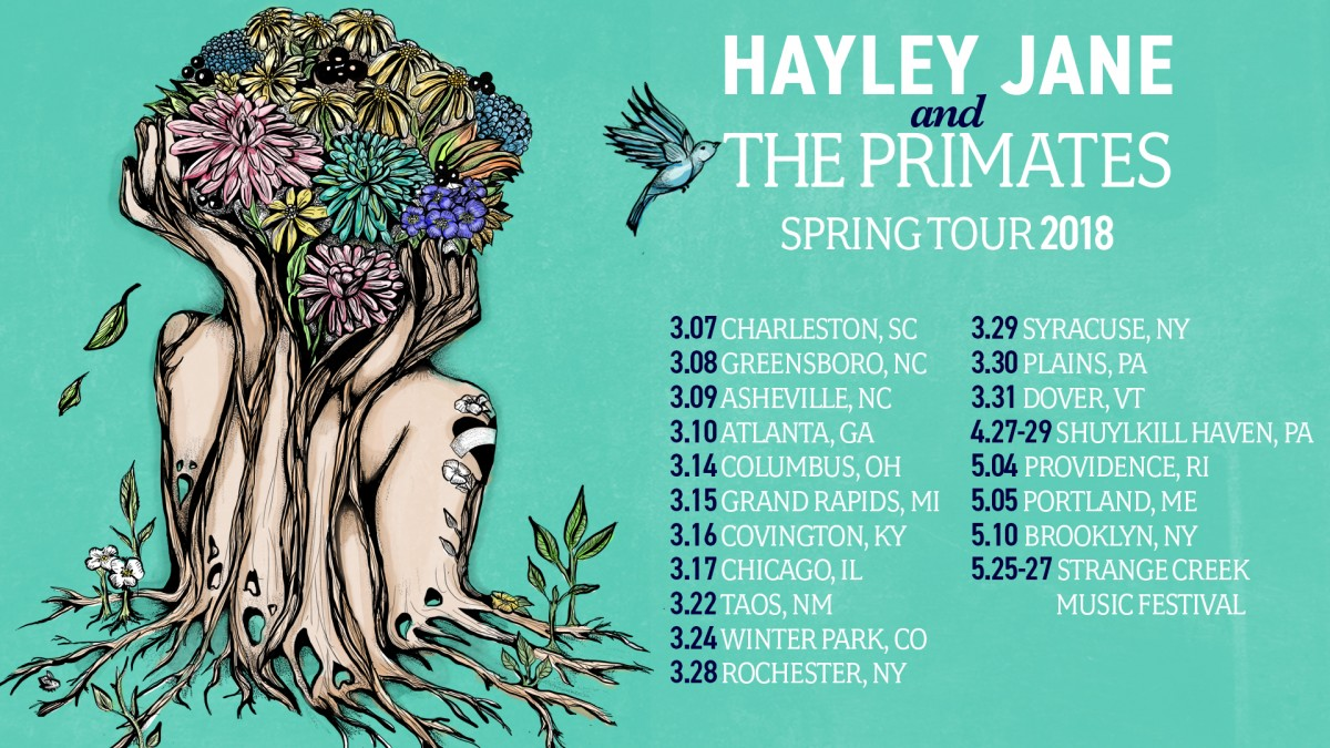 Hayley Jane And The Primates Announce Spring Tour