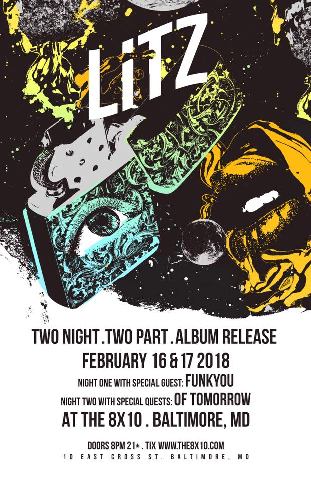 What's Up Weekly: February 12-18, 2018 – LITZ Album Release, Umphrey's in DC, BIG Something + more