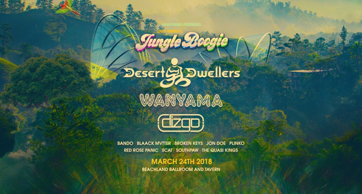 "Are You Ready to Boogie?  Wanyama to release new album ""+1"" at Jungle Boogie, March 24, 2018 at Beachland Ballroom"
