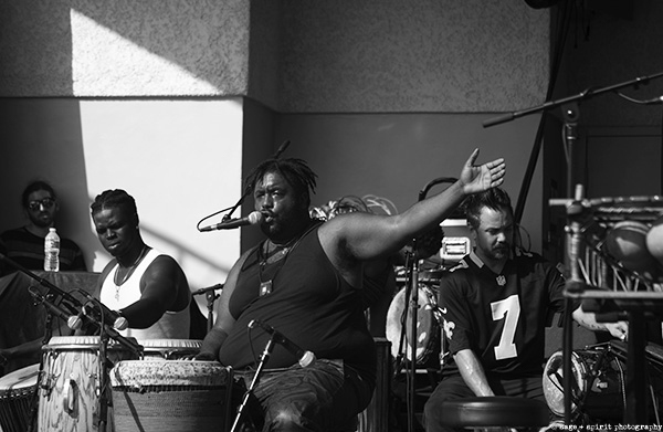 Photo Slideshow: Weedie Braimah & The Hands of Time at GroundUp Music Festival by Geoff Clowes