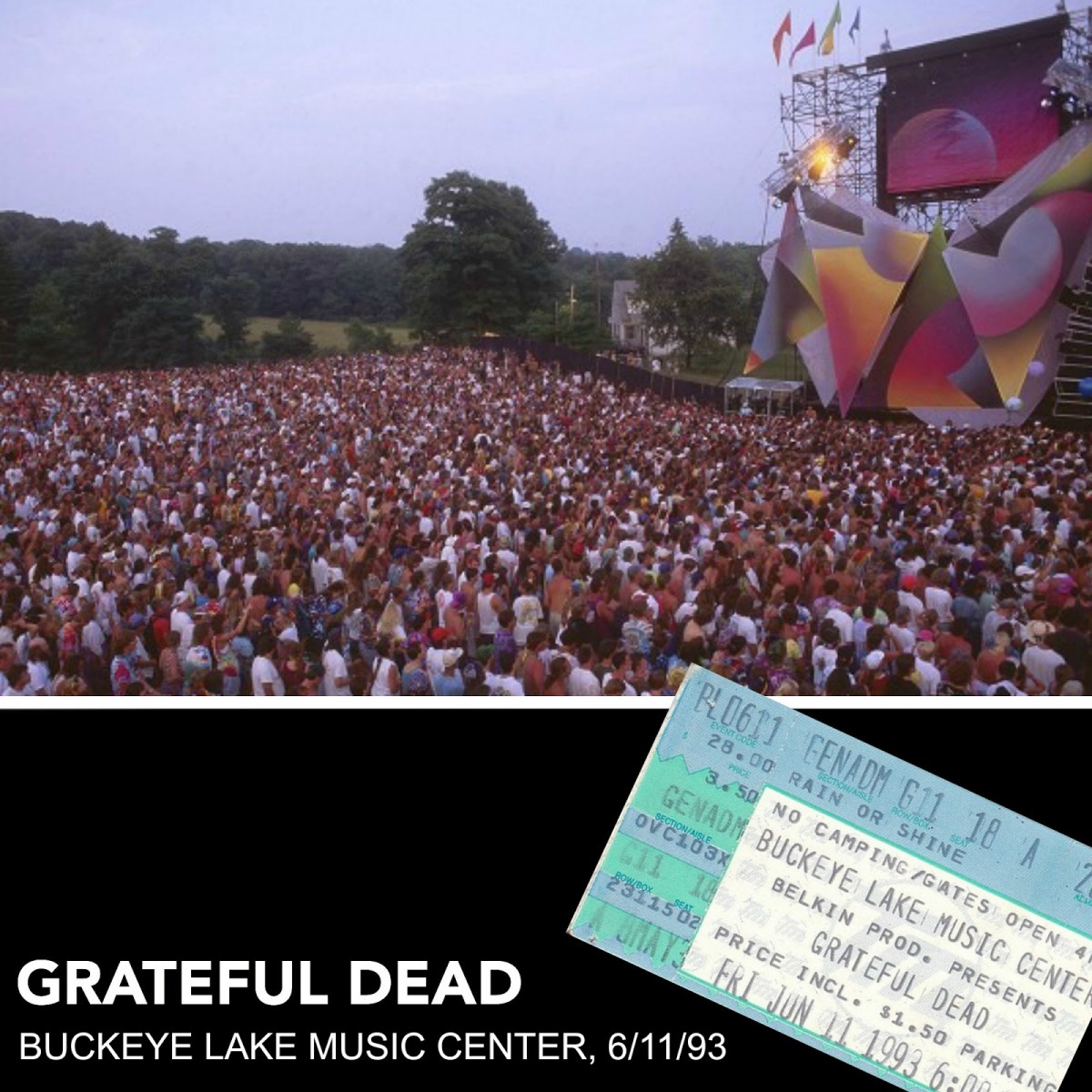 Dark Star Orchestra to Recreate Epic Grateful Dead '93 Buckeye Lake Show at Same Venue During Dark Star Jubilee Festival; Festival Schedule Announced