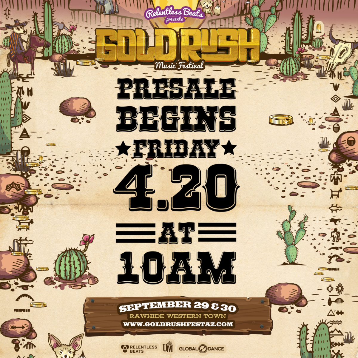 Relentless Beats Announces the Return of Goldrush Music Festival, with New Dates – this September 29 & 30