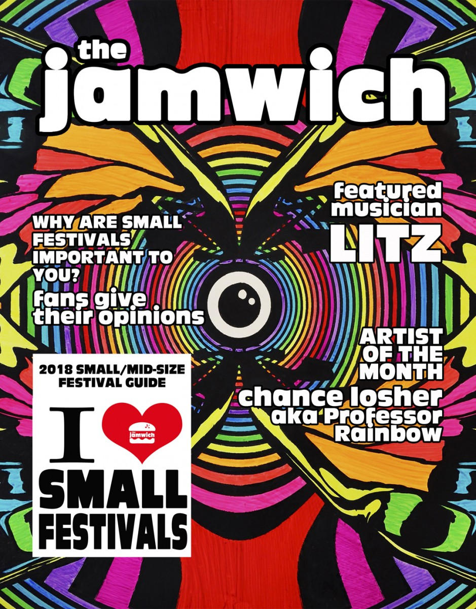 April issue of The Jamwich and I <3 Small Festivals Club now on sale!