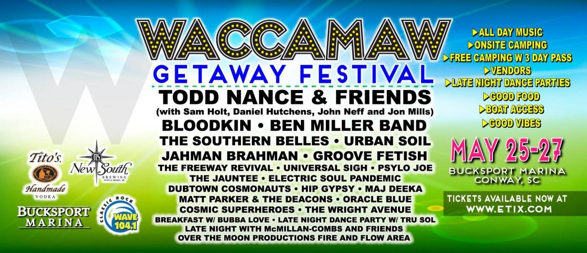 2nd Annual Waccamaw Getaway Festival