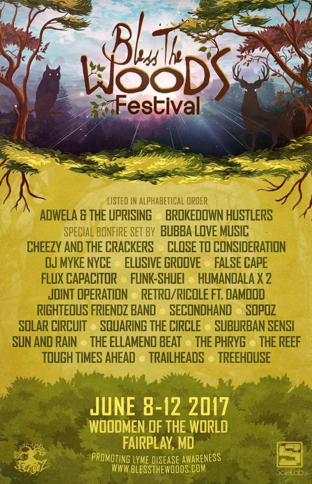 Festival Preview : Bless The Woods June 7-10, 2018 – Big Fun at a Small Festival