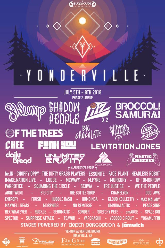 Yonderville 2018 Welcomes We The People