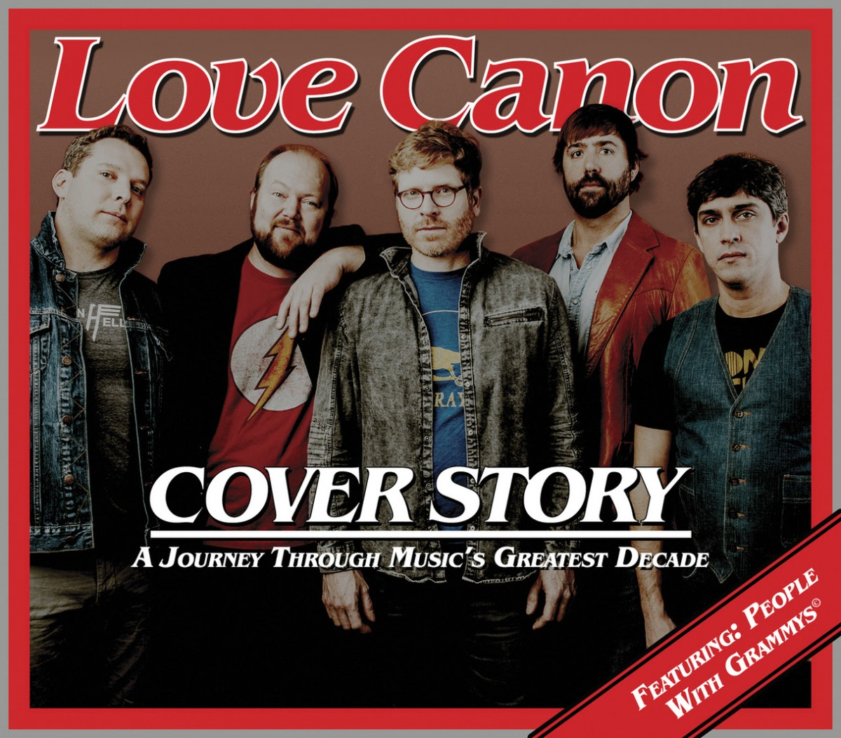 Love Canon is on their way to releasing their new album Cover Story July 13
