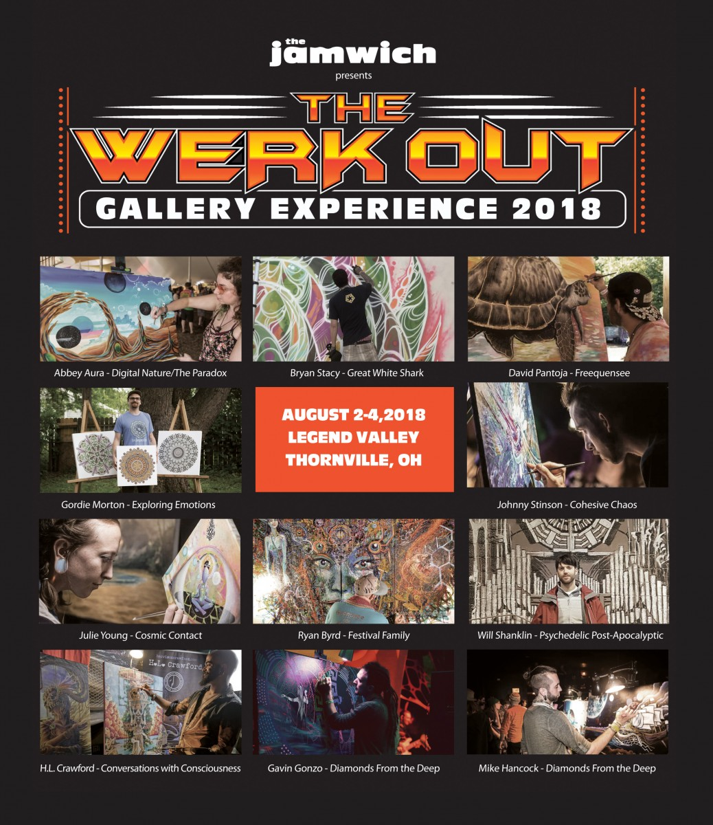 Insights Into The Jamwich Presents The Werk Out Gallery Experience 2018